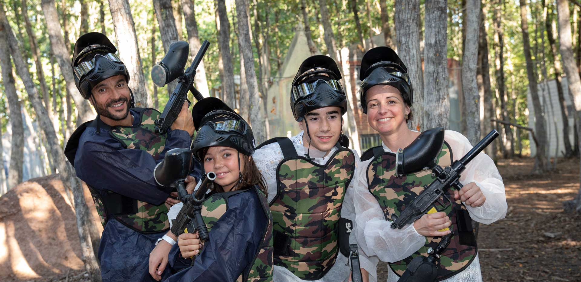 paintball vendée famille